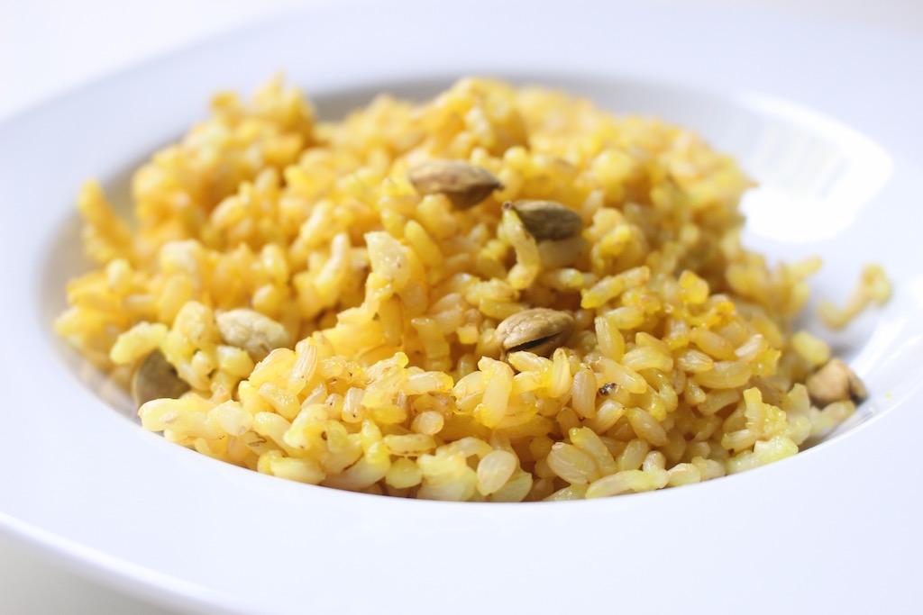 Ecco il risotto che ho preparato seguendo i consigli di Chef Polato