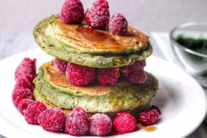Pancakes alla clorofilla