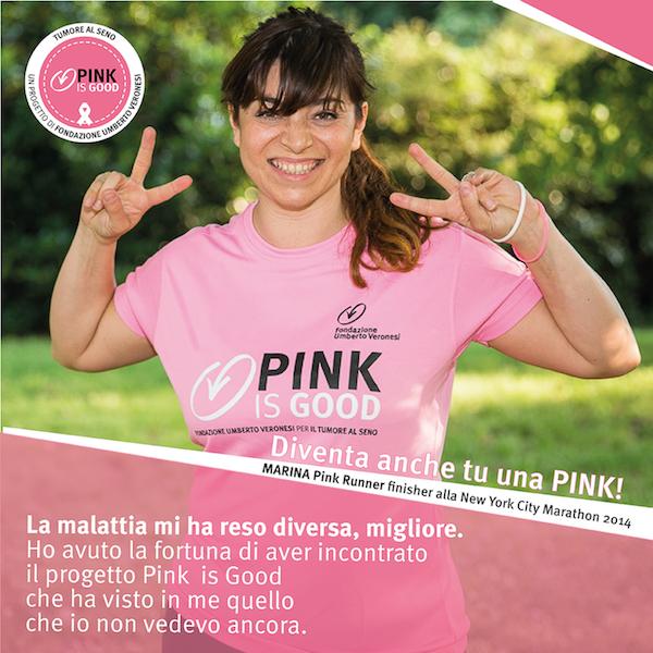 Pink is good Fondazione Umberto Veronesi - Running Post