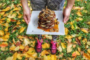 Pancakes alle castagne e grano saraceno