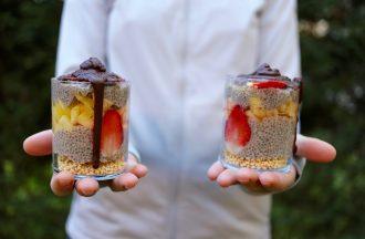 Budino esotico di semi di chia by Bioglan Superfoods - Running Post