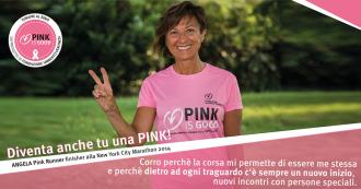 PINK IS GOOD FONDAZIONE VERONESI - RUNNING POST