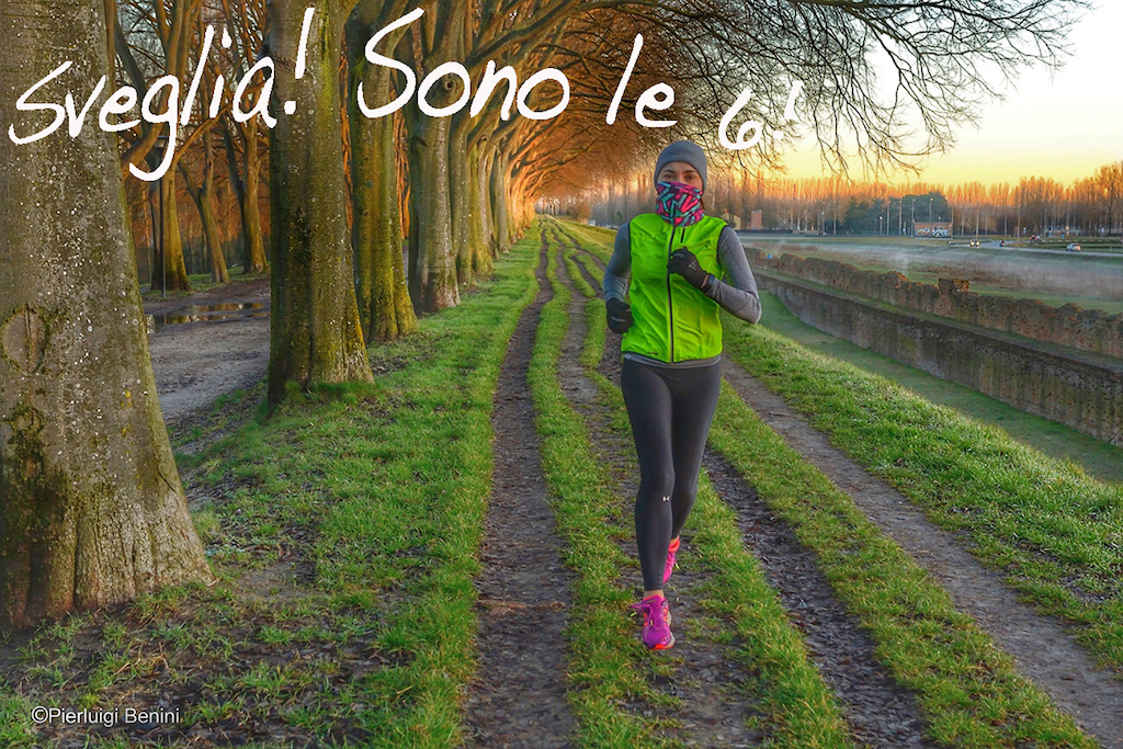 Corsa all'alba - Foto Benini per Running Post