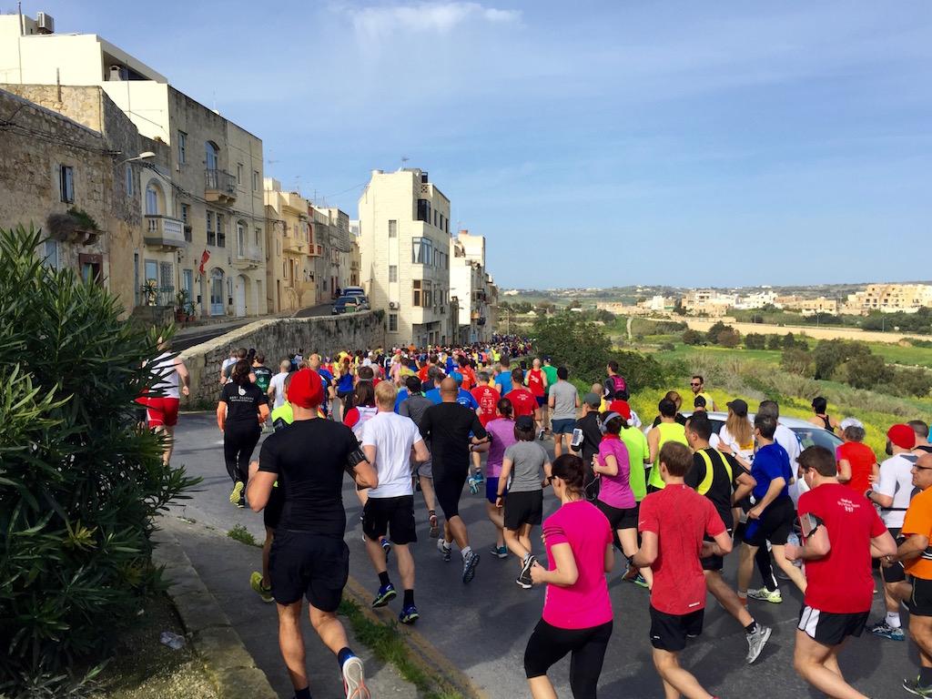 start Vodafone Malta Marathon