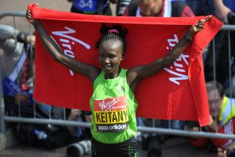 Mary keitany - Foto di Benini per Running Post