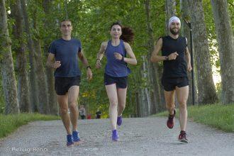A sx Folco trezani, Irene Righetti e Michele Graglia - Foto Running Post