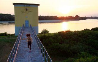 corsa al tramonto - running post