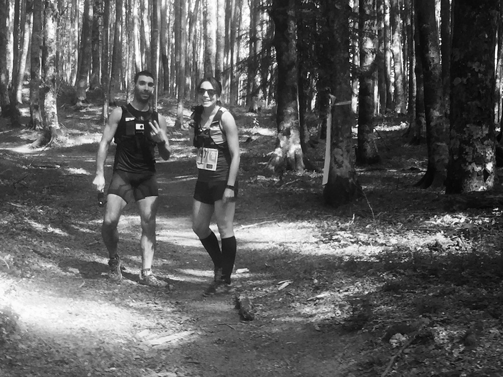 trail sacred forests - running post