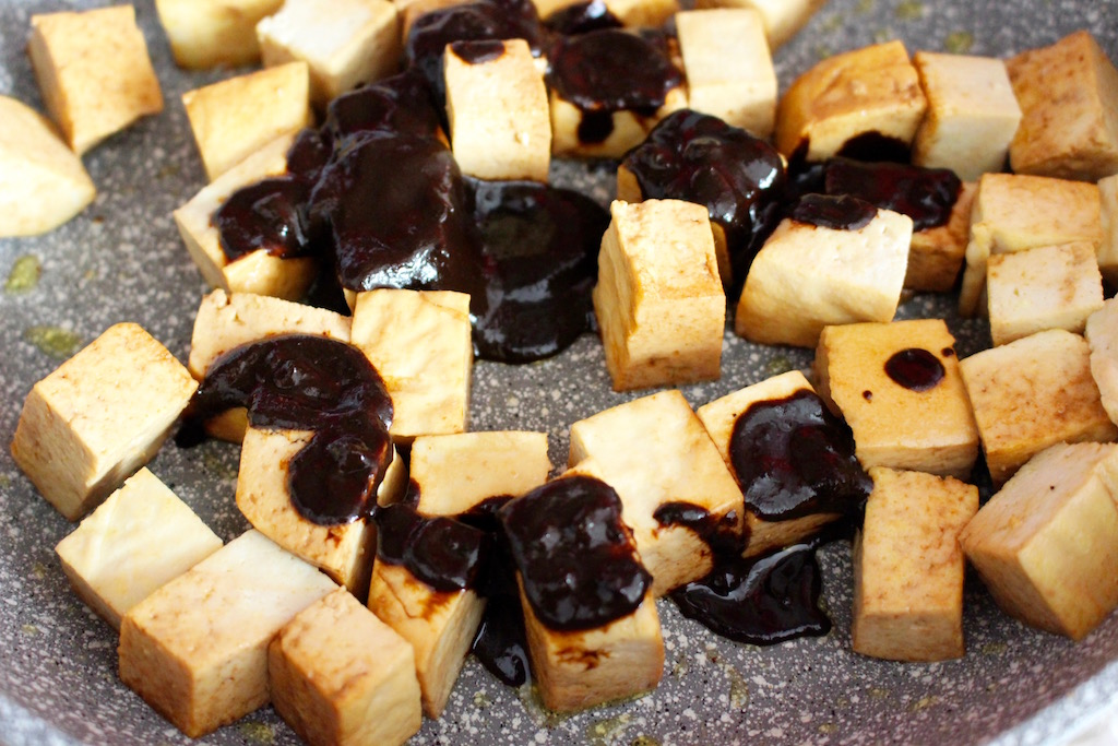 TOFU ALL'AGLIO NERO - RUNNINGPOST