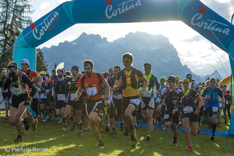 Start Dolomiti trail Dolimiti 2017