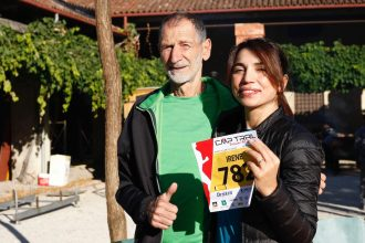 Marco Olmo e Irene Righetti per CMP Trail Bassano del Grappa