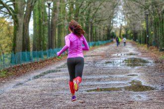 Correre con la pioggia - foto di Running Post