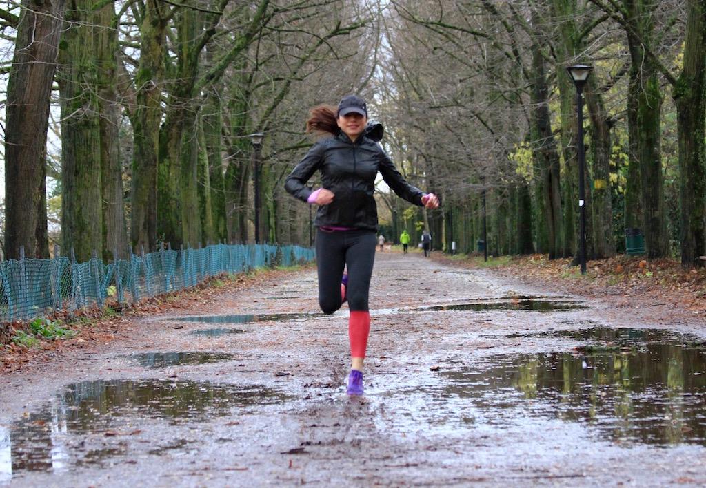 correre con la pioggia - FOTO RUNNINGPOST