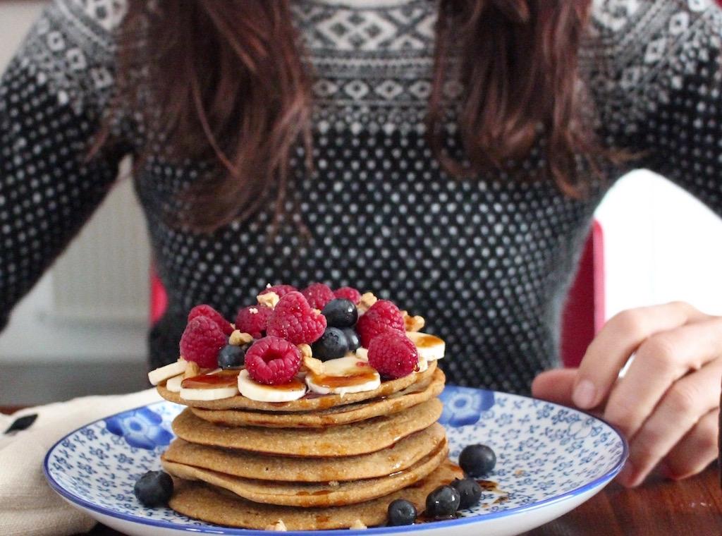pancakes al teff - runningpost
