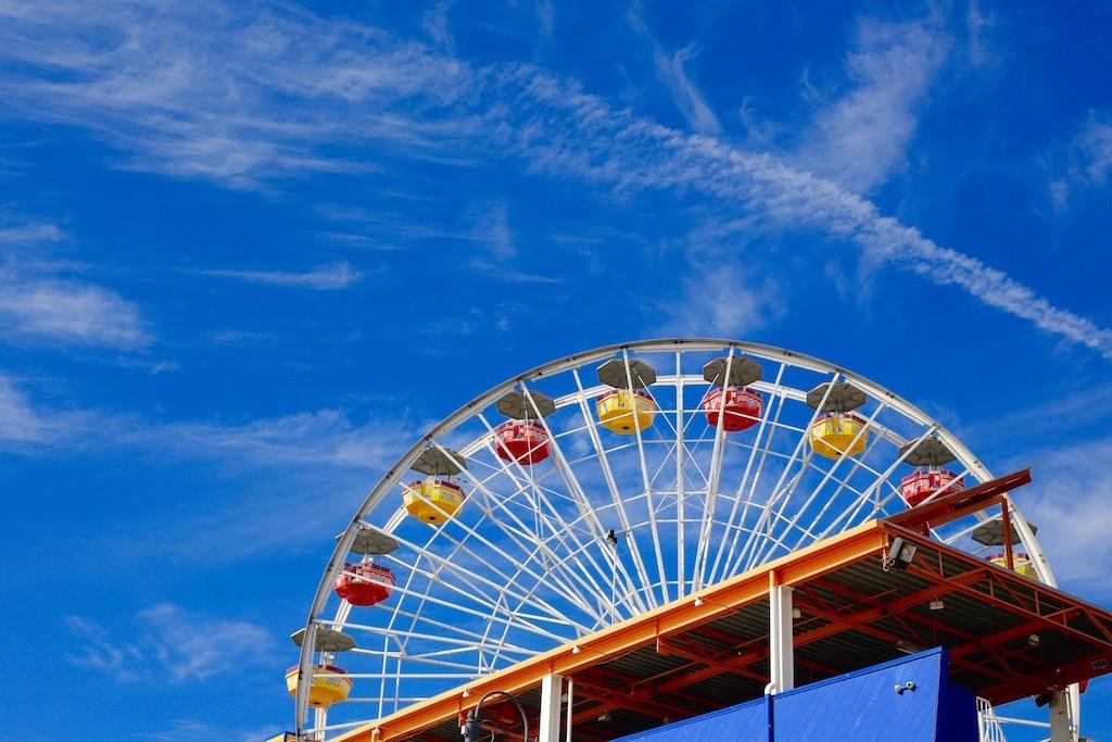 La ruota panoramica di Santa Monica - Foto Running Post