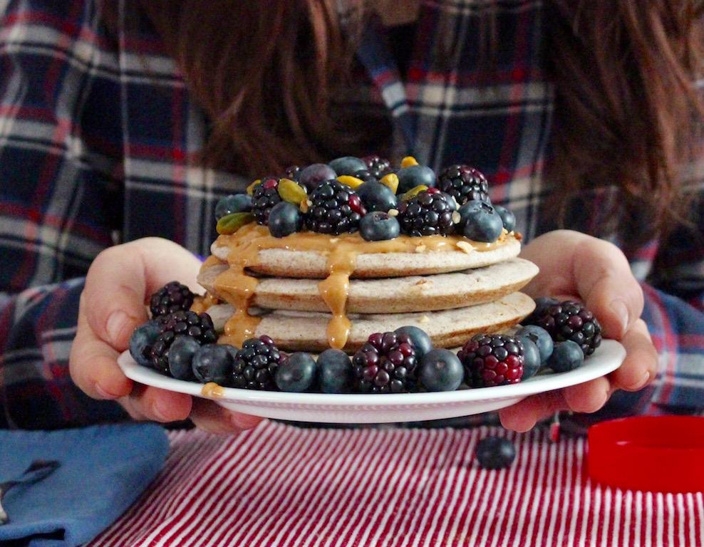 pancakes al grano saraceno - runningpost