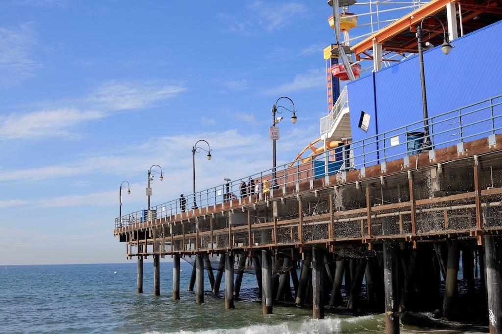 Il molo di Santa Monica - foto Tommaso Gallini
