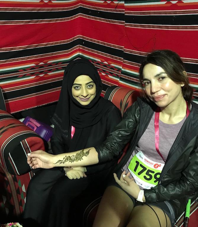 henné, doha - running post