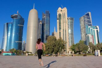 IRENE skyline doha - foto running post