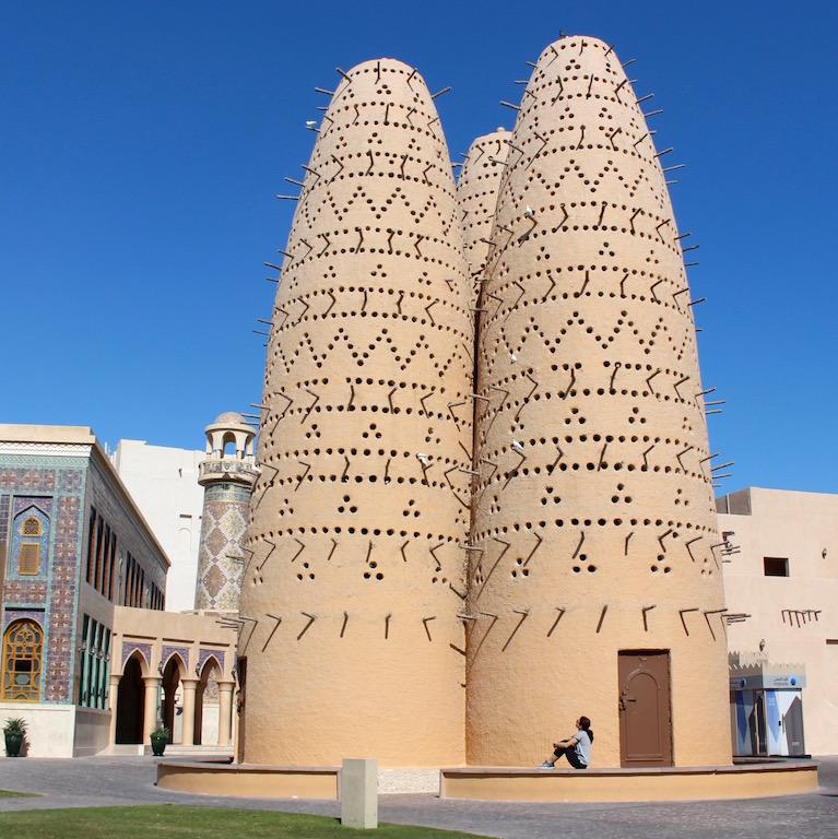 birds towers - Katara CULTURAL VILLAE - FOTO DI IRENE RIGHETT
