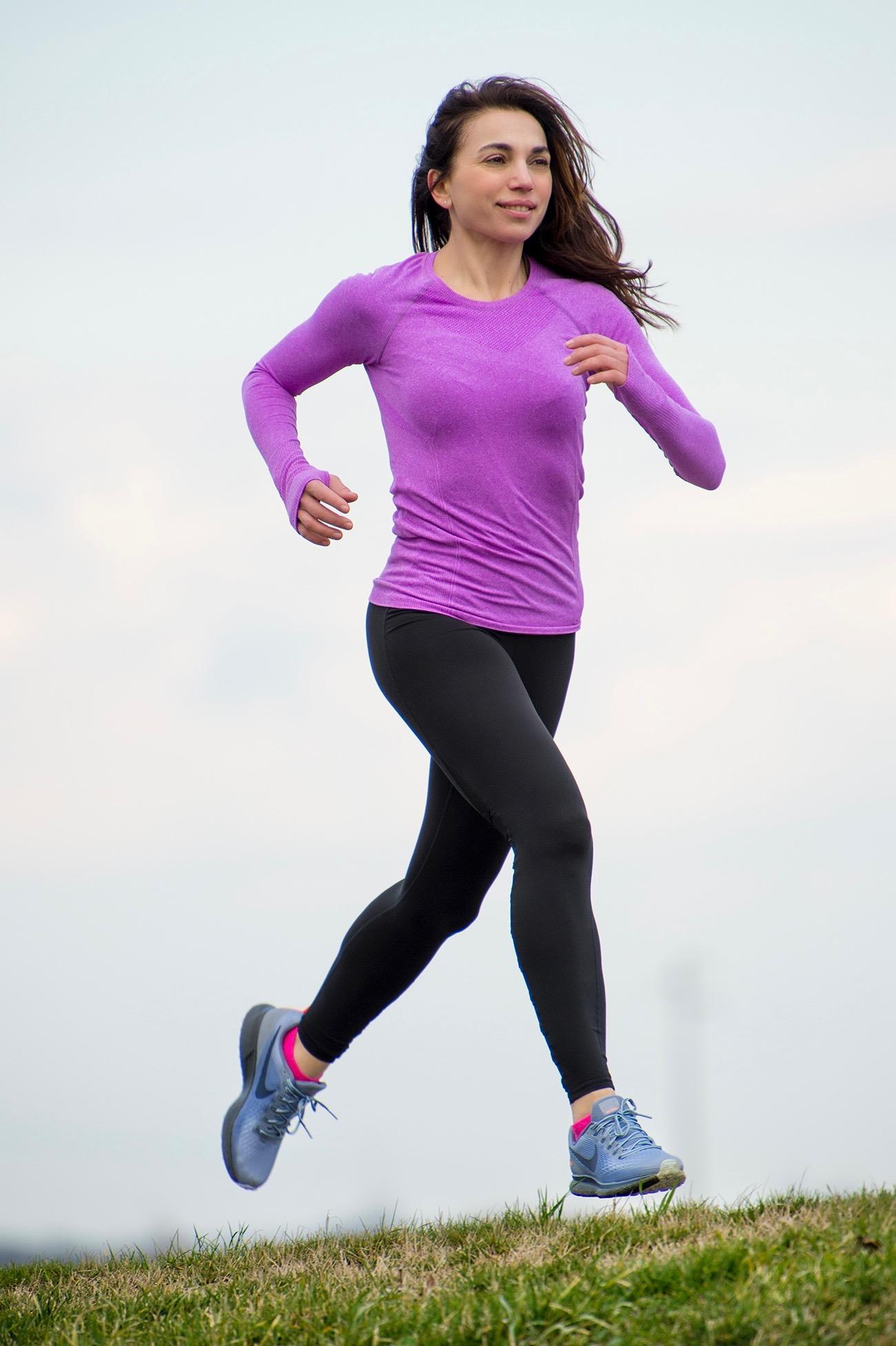 Irene Righetti corre - foto di Pierluigi Benini per Running Post