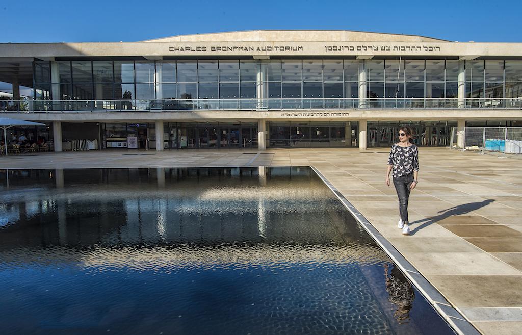 Auditorium di Tel Aviv - foto Pierluigi Benini per Running Post