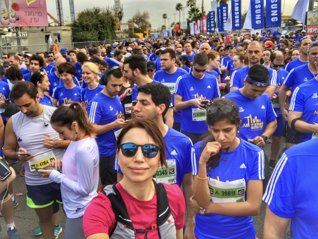 Eccomi allo start della 10 km by Tel Aviv Samsung Marathon - Running Post