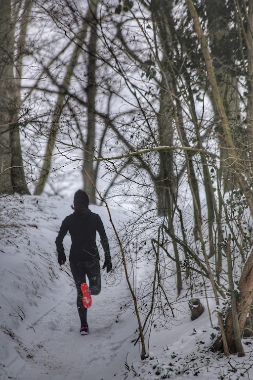 correre sulla neve - foto by running Post