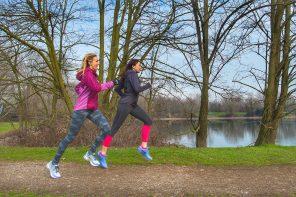 Io corro con Justine Mattera