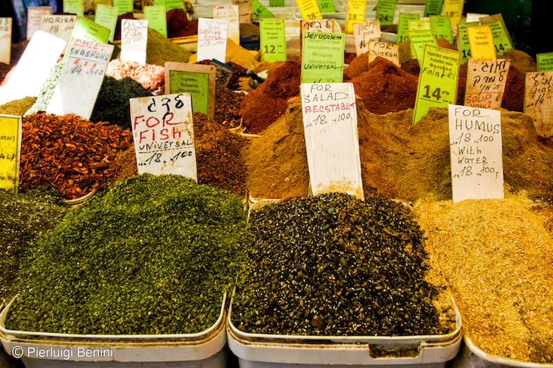 Carmel Market - Running Post