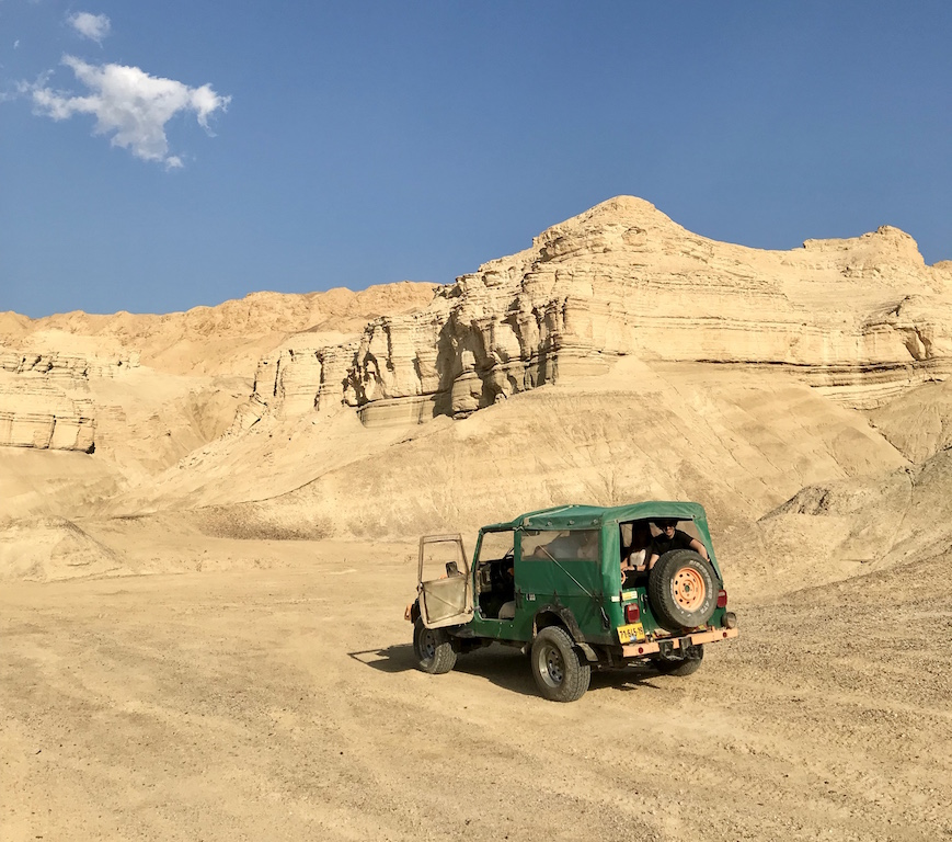 jeep Safari in Israele - foto running Post