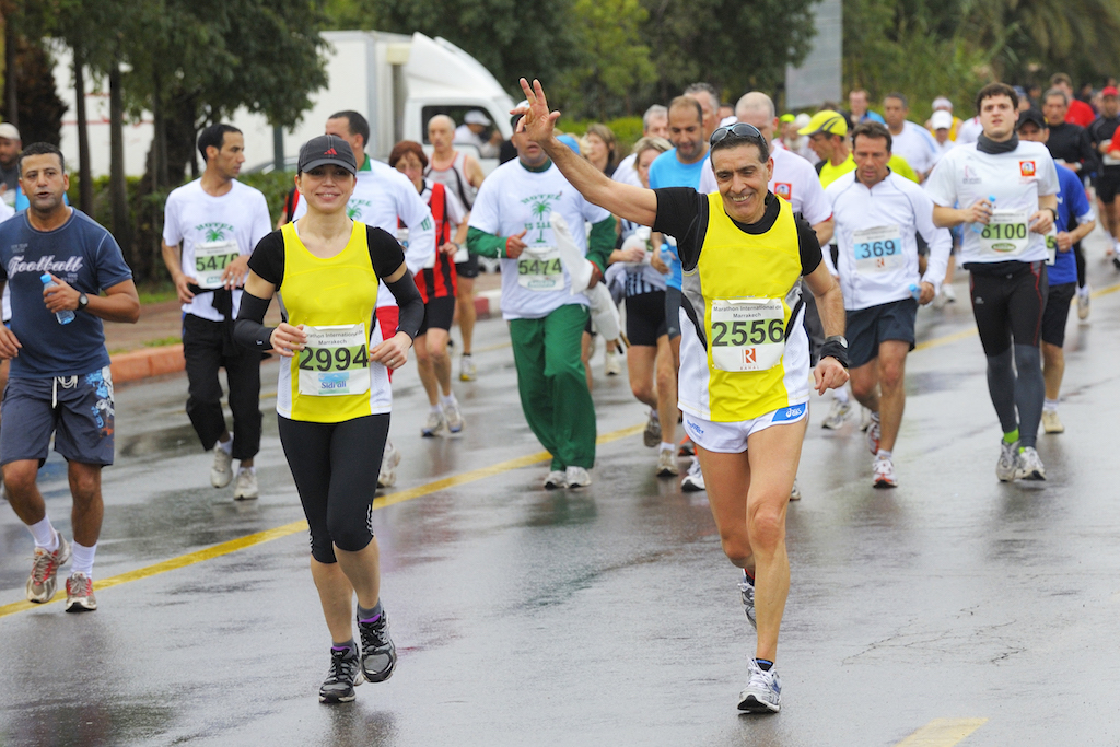 marrakech half marathon - foto Benini per Running Post