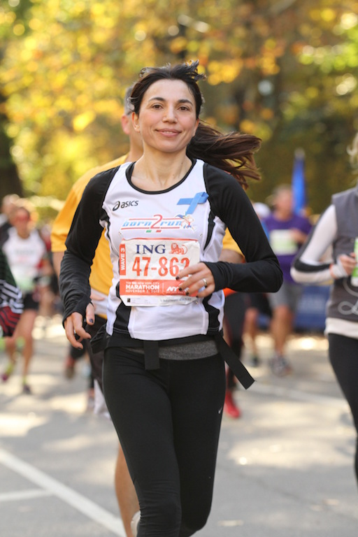 Irene Righetti alla NYCM - Foto Running Post
