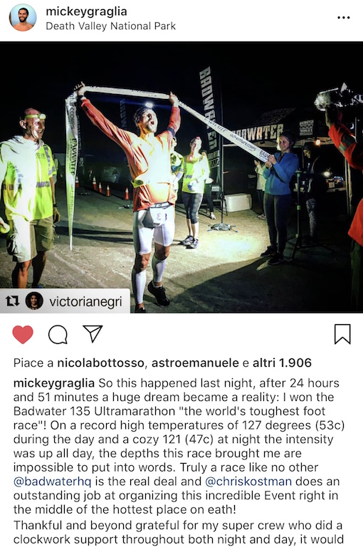 Michele Graglia - Running Post