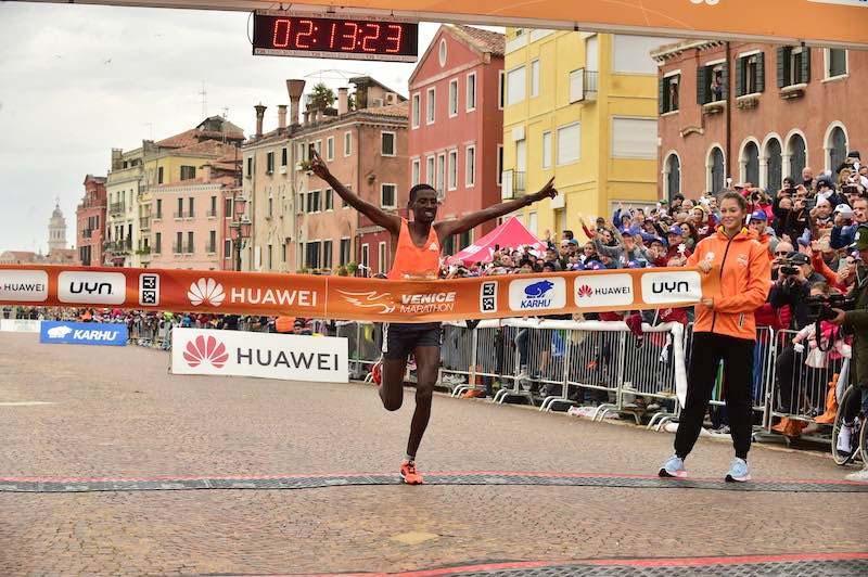 vincitore Venice Marathon 2018