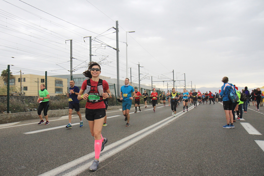 Irene Righetti in gara per la Nice - Cannes 2018 - Running Post