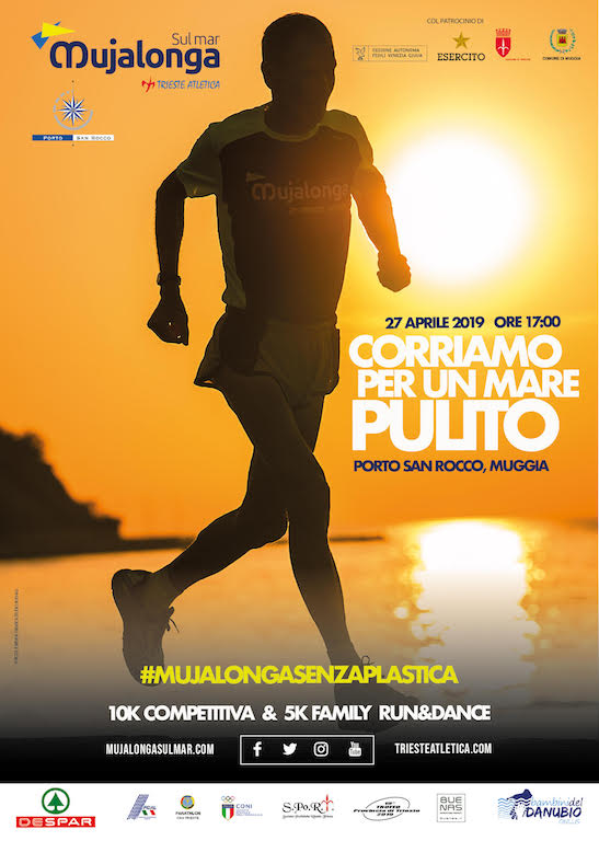 Locandina Mujalonga sul Mar 2019 - RUNNING POST