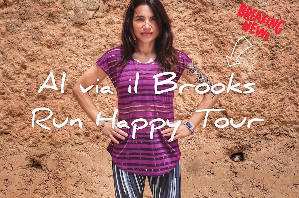 Brooks Run Happy Tour 2019 - www.runningpost.it