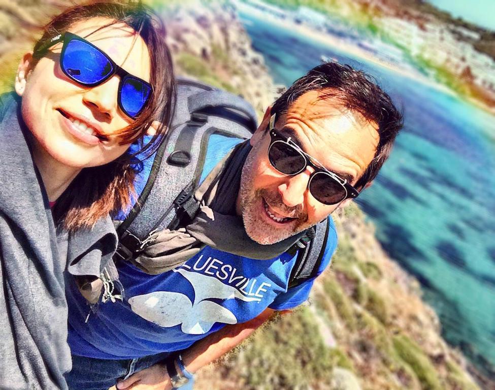 Irene Righetti e Tommaso gallini a Mykonos - www.runningpost.it