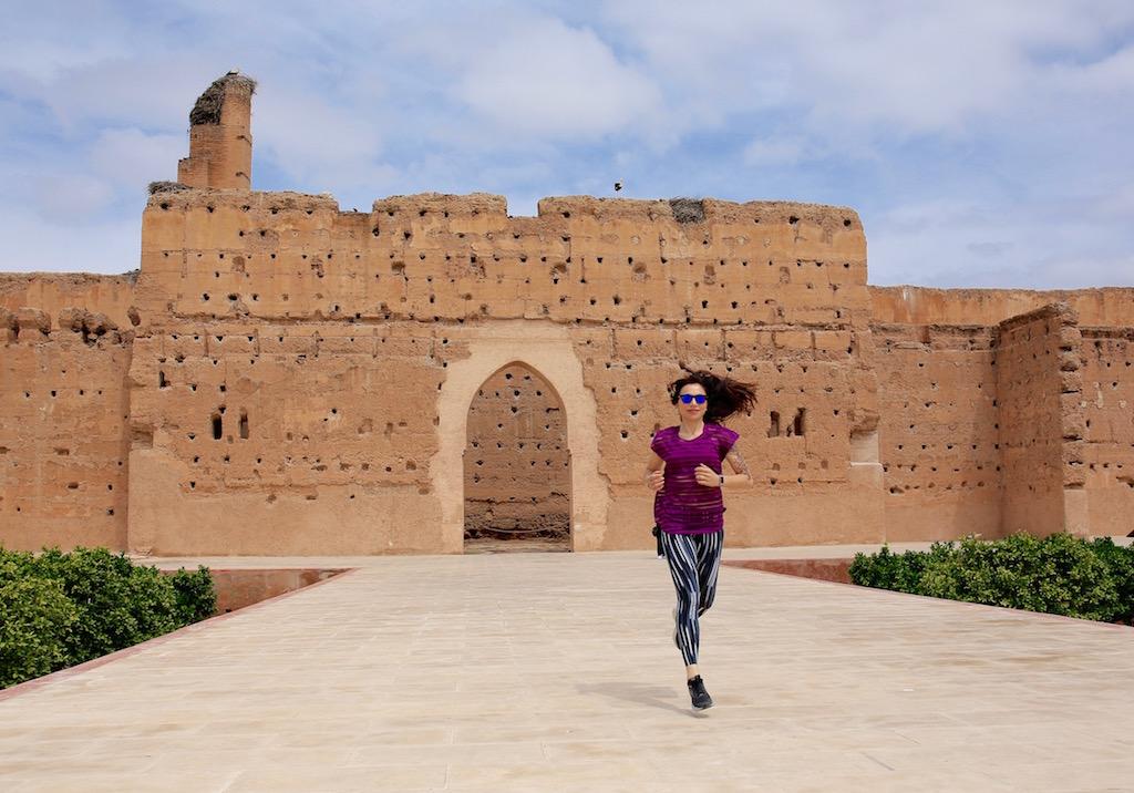 el badi, marrakech - www.runningpost.it