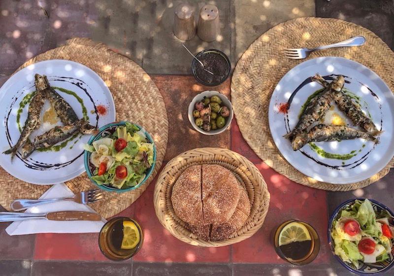 Un piatto tipico di Marrakech - www.runningpost.it