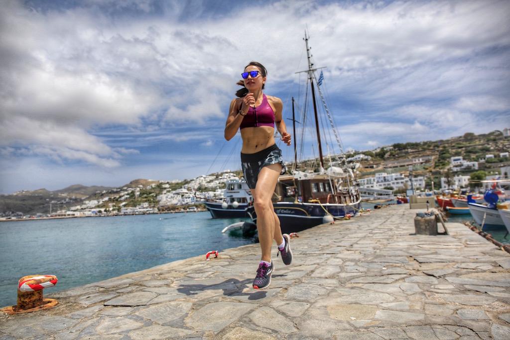 il mio viaggio di corsa a Mykonos - www.runningpost.it by Irene Righetti