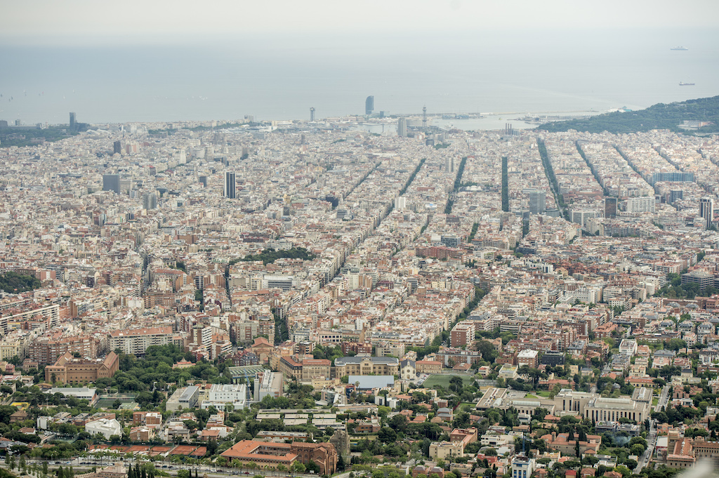 Panorama di Barcellona - www.runningpost.it