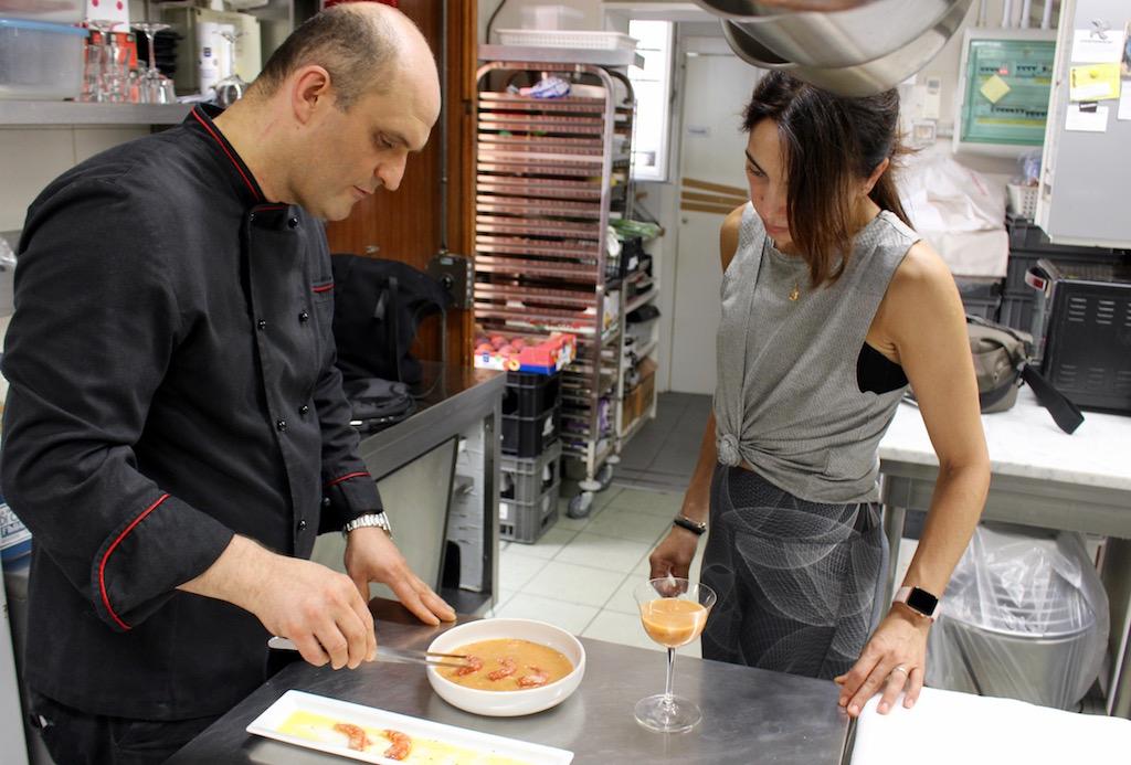 Gazpacho di pomodoro e pesche - www.runningpost.it