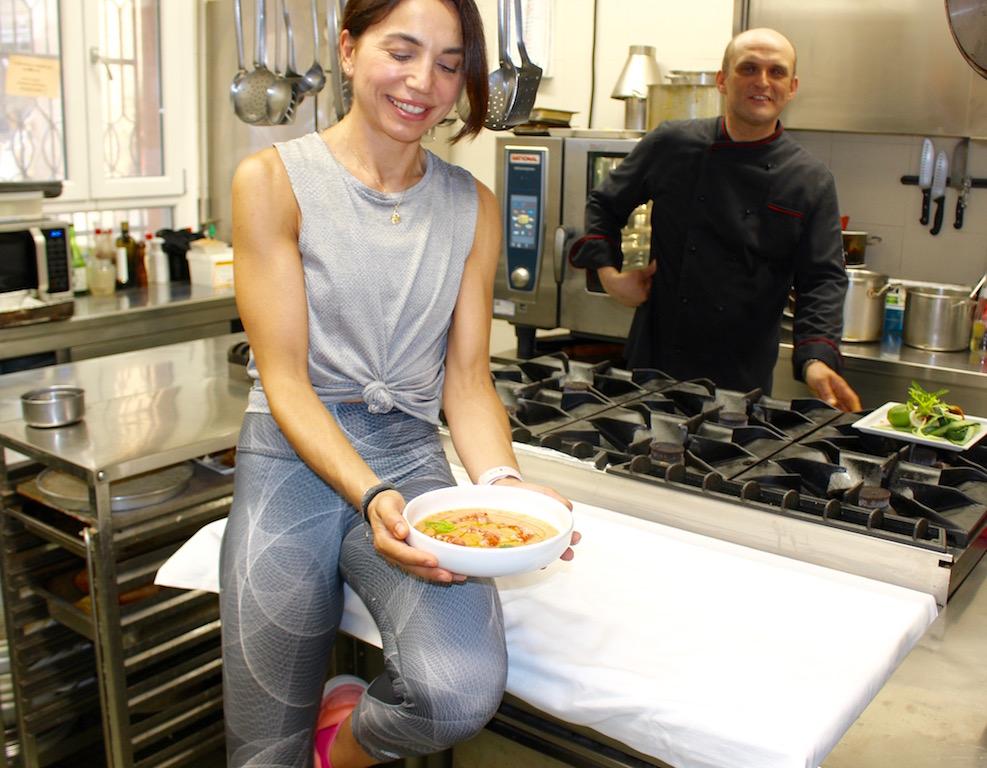 Gazpacho con i pomodori e le pesche - www.runningpost.it