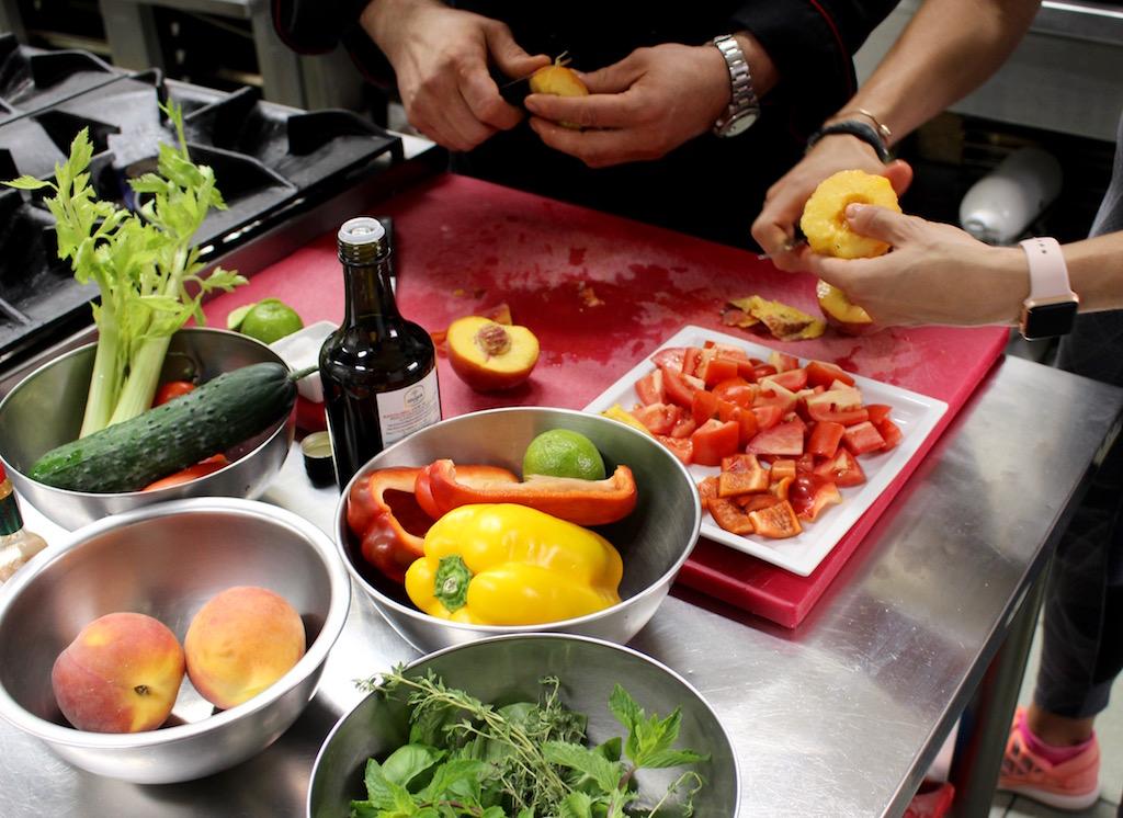 Gazpacho di pomodori, pesce e gamberi rossi - www.runningpost.it