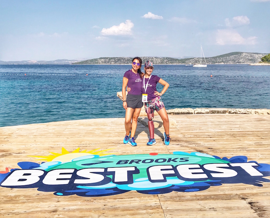 BROOKS BEST FEST con Desi Villa - OBONJAN ISLAND - WWW.RUNNINGPOST.IT