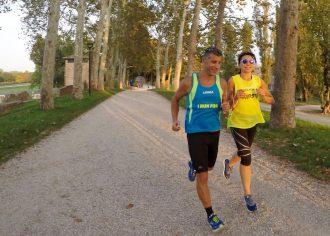 Stefano Petrarca e Irene Righetti - Foto running post