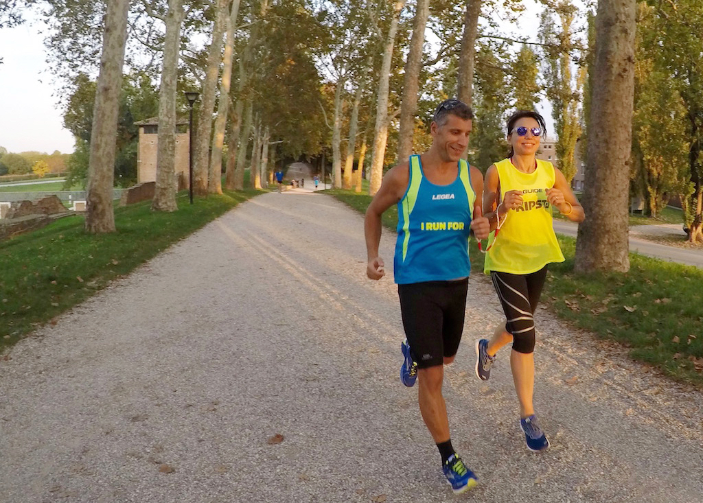Stefano Petrarca e Irene Righetti - Foto running post