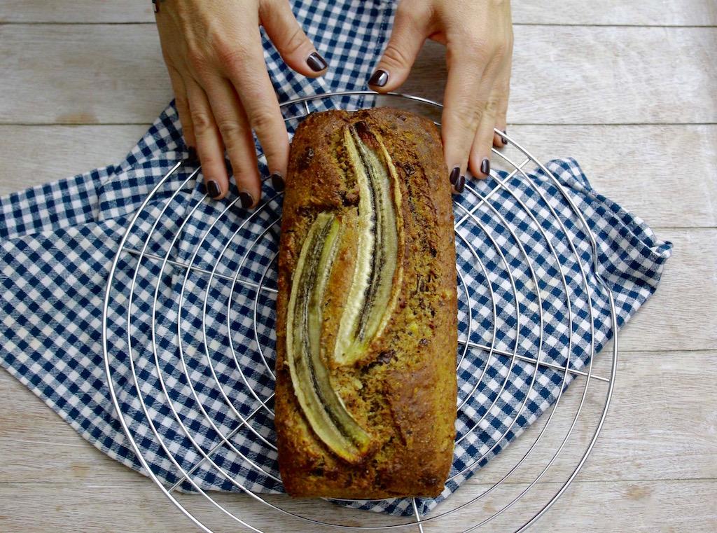 Banana bread integrale -www.runningpost.it